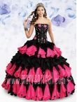 Discount Wholesale Gorgeous Ball gown Strapless Floor-length Quinceanera Dresses Style S12-4115