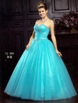 Discount Wholesale Beautiful Ball gown Sweetheart Floor-length Quinceanera Dresses Style AFFJ303