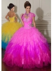 Discount Wholesale Beautiful ball gown sweetheart-neck floor-length quinceanera dresses 88013