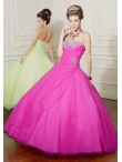 Discount Wholesale Elegant ball gwon sweetheart-neck floor-length quinceanera dresses 88016