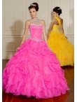 Discount Wholesale Popular ball gown sweetheart-neck floor-length quinceanera dresses 88008