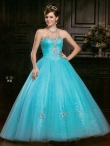 Discount Wholesale Sweet Ball gown Sweetheart Floor-length Quinceanera Dresses Style AFJJ71