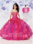 Discount Wholesale Romantic Ball gown Strapless Floor-length Quinceanera Dresses Style S12-4116