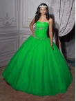 Discount Wholesale Beautiful ball gown sweetheart-neck floor-length quinceanera dresses 56208