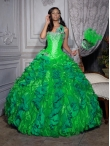 Discount Wholesale Luxurious ball gown strapless floor-length quinceanera dresses 26685