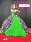 Discount Wholesale Modern Ball gown Sweetheart Floor-length Quinceanera Dresses Style AP93-192