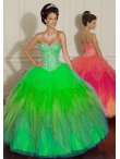 Discount Wholesale Special ball gown sweetheart-neck floor-length quinceanera dresses 88006