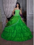 Discount Wholesale Wonderful detachable ball gown strapless floor-length quinceanera dresses 26686