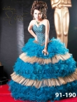 Discount Sweetheart Neck Beading Quinceanera Dress Style 91-190