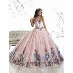 Discount Floor Length Baby Pink Ball Gown Prom Dress Sweetheart Sleeveless Lace Up