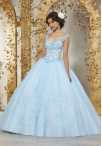 Discount V-neck Sleeveless Lace Up Sweet 16 Dress Baby Blue Tulle