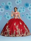 Discount Most Popular Floor Length Red Ball Gown Prom Dress Scoop Sleeveless Lace Up